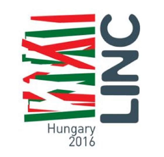 Image of LINC logo with Hungary 2016 written underneath
