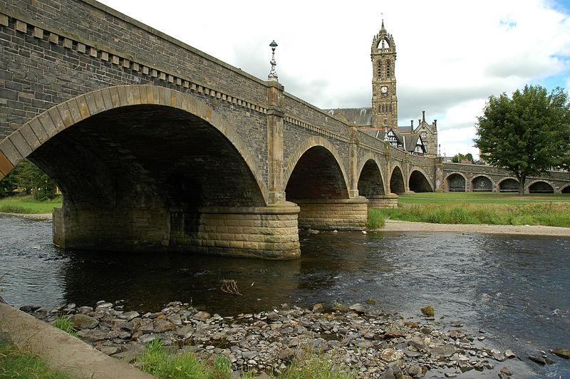 Tweed Bridge, Peebles