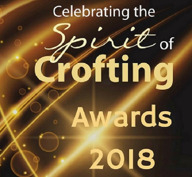 Logo for Spirit of Crofting 2018 awards