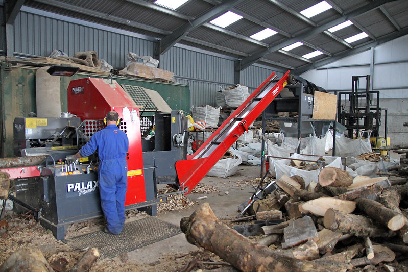 wood manufacturing operation