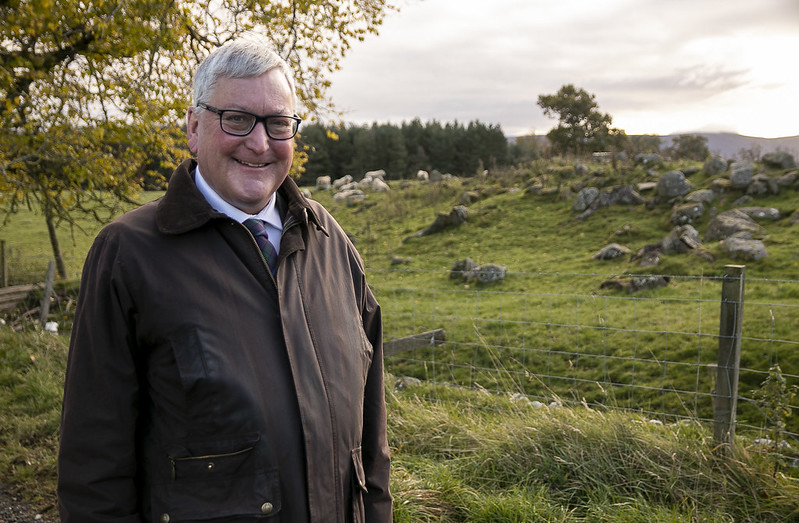 Cabinet Secretary for the Rural Economy and Tourism, Fergus Ewing