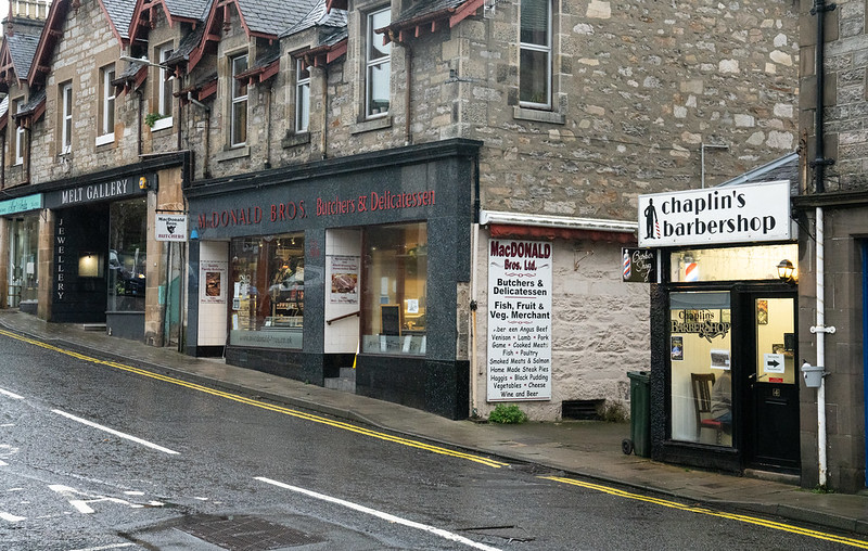 Pitlochry high street. Photo credit @ Rural Matters Flickr