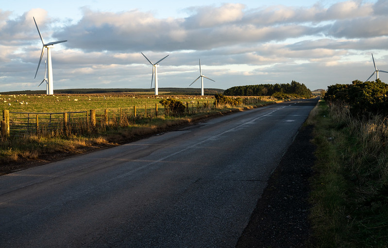 Wind Turbines in the Scottish Borders. Photo credit: Rural Matters Flickr