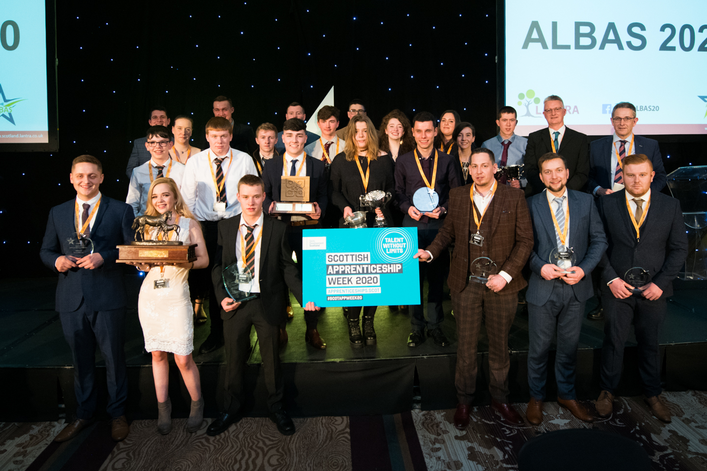 Last year's ALBA awards finalists