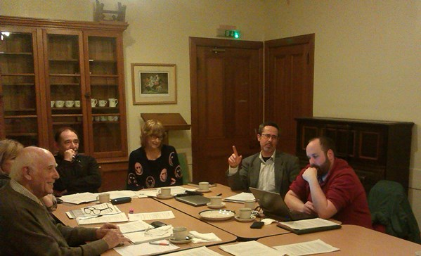 Moray LEADER Local Action Group members at meeting