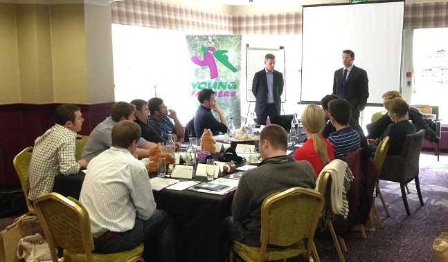 Scottish Association of Young Farmers' Clubs Training session underway
