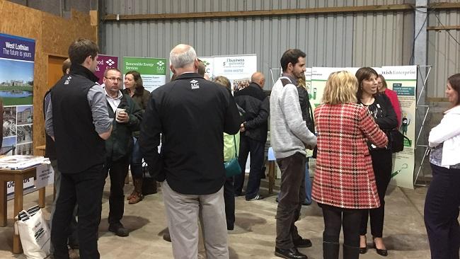 participants at farm diversification and rural enterprise event