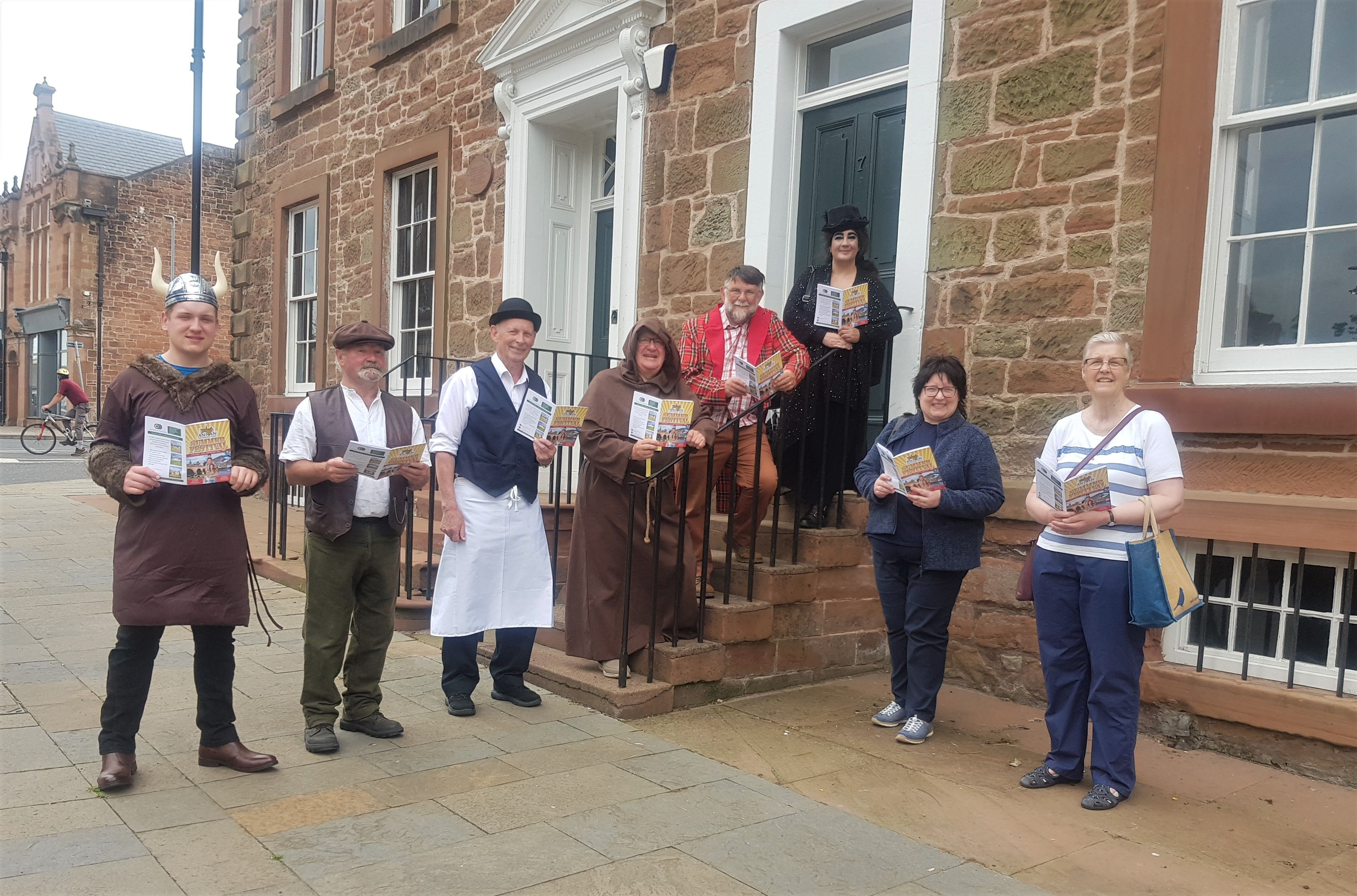 Members of the History Town Committee