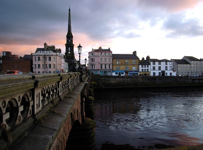 Ayr town centre