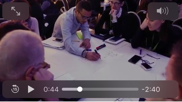 screenshot from networX event video