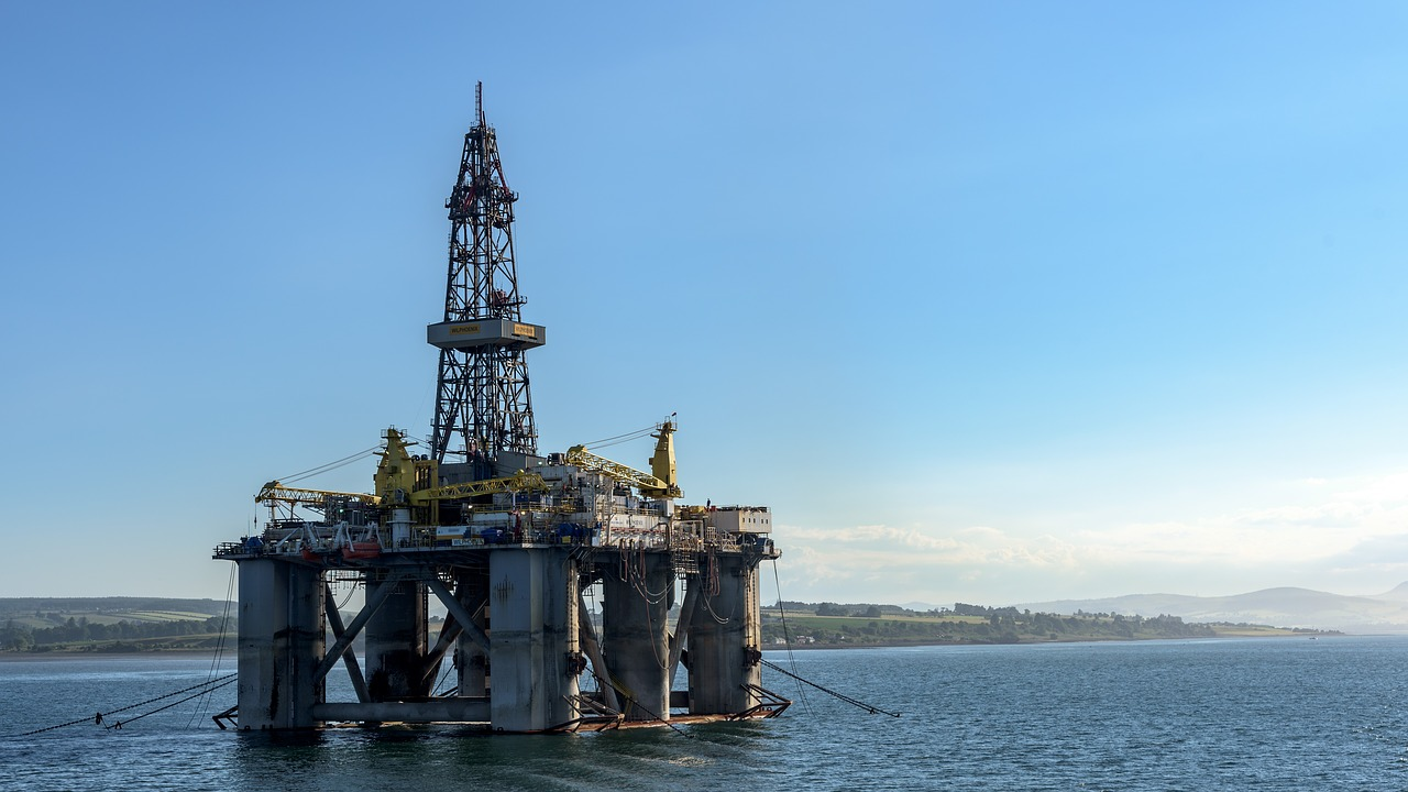 Oil Rig: Cromarty, Firth