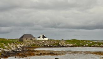 Croft houses on North Uist