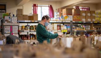 Food Bank - Photo by Aaron Doucett on Unsplash