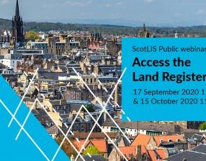 Access the Land Register Info Graphic