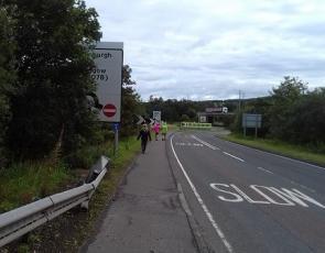 A70 facing south Douglas