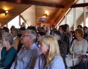 audience members at Cairngorms LEADER launch