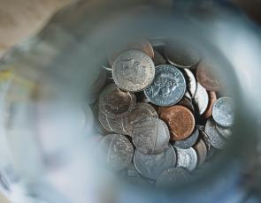 Coins Photo by Nick Fewings