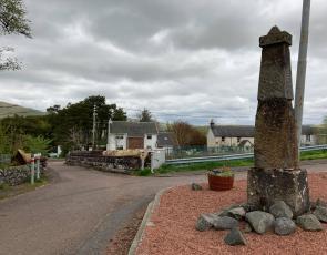 Crawford monument