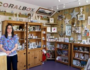 Eilidh Carr, founder of The Coralbox on North Uist