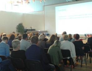 Audience at Transnational Cooperation Fair