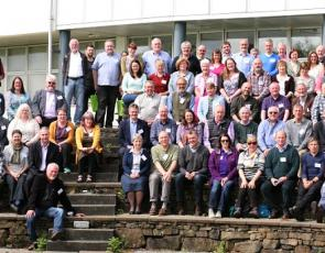 delegates at Community Land Scotland conference