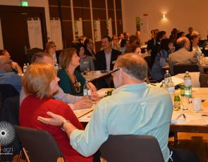 EIP workshop in Vienna - group discussions at tables, copyright EIP-AGRI
