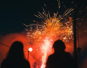 Fireworks -  By Karen Grigorean (unsplash)
