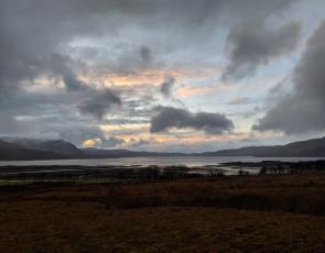View from Torridon, Wester Ross