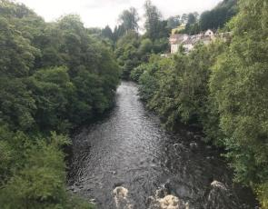 Kirkfieldbank River - Image credit Community Action Lanarkshire