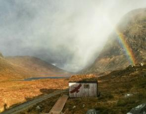 Picture courtesy of the North Harris Trust, LEADER funded Eagle Observatory