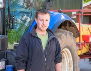 Modern Apprentice Ryan Paxton at Buccleuch near Selkirk