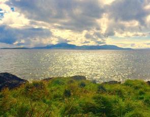 Argyll coastal landscape