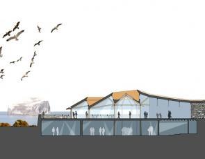 Artist impression of National Marine Centre