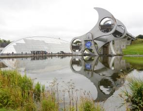 Falkirk Wheel, Lisa Evans