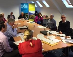 Fostering Business and Enterprise Action Group meeting