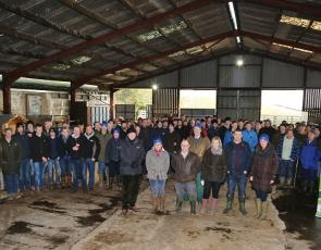 Around 100 people attended the first meeting of the new Nithsdale monitor farm