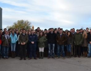 Group photo of participants at Young Farmers Agri and Rural Affairs conference