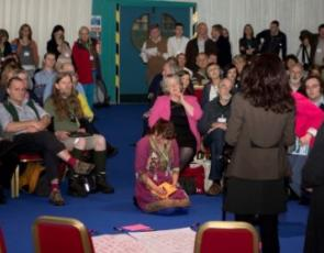 open space session at first Scottish Rural Parliament