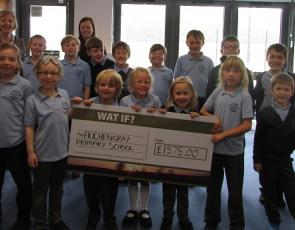 Large Grant awarded to Auchengray Primary School by WAT IF? for Heritage Photography Project