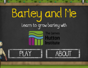 Screenshot from Barley and Me game