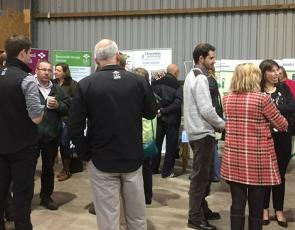 participants at farm diversification and rural enterprise event