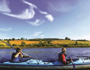 Perthshire Adventures - 2 people on the water