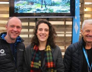 Rare Invertebrates in the Cairngorms winners with Paul Rose