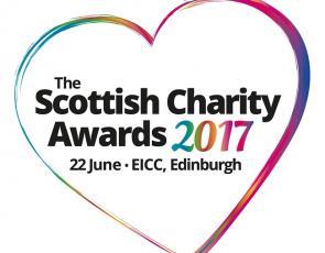 Scottish Charity Awards 2017 logo