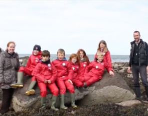 Still from guide to rockpooling video