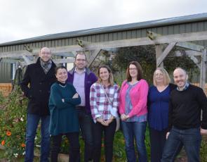 Scottish Rural Network Support Unit team photo