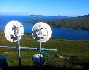 isle of rum broadband satellite dishes