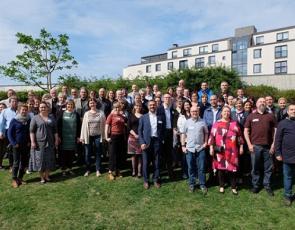 Group Pic of attendees, Helsinki Evaluation Workshop
