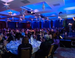 crowd photo from Nature of Scotland Awards ceremony, photo credit: Simon Williams Photography Edinburgh