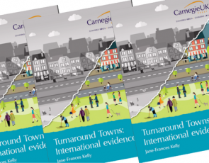 Covers of Turnaround Towns report